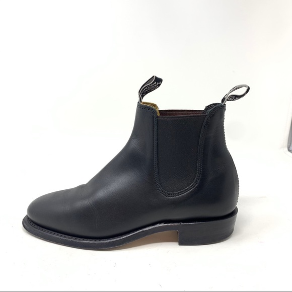 Rm Williams Chelsea Boots Size 5 Black